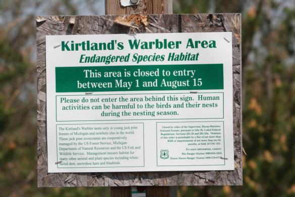 Kirtland's Endangered Sign IMG_1949_1