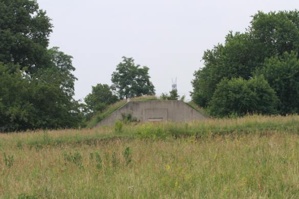Bunker - remains of the former military installation