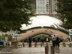 Cloud Gate sculpture, Millennium Park