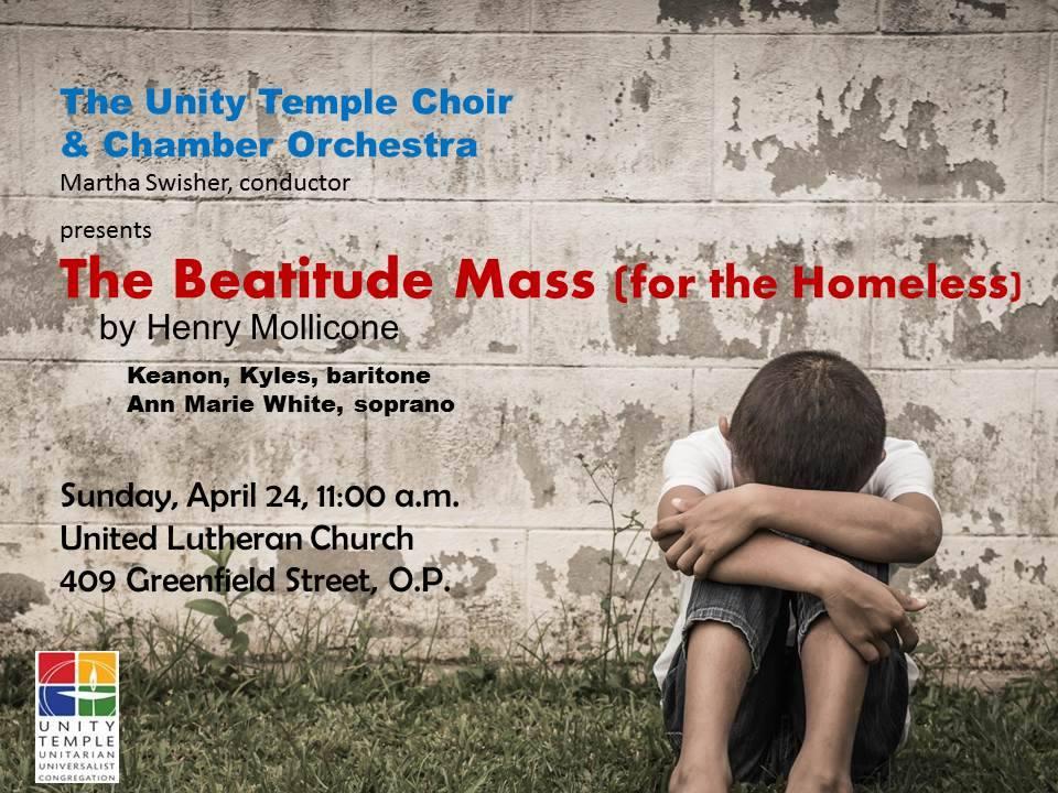 Beatitude Mass for the Homeless
